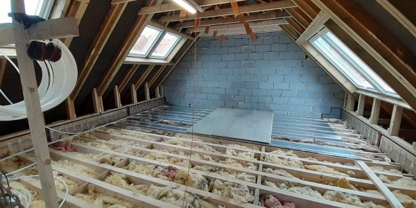 Velux Loft Conversion Harrogate Joists